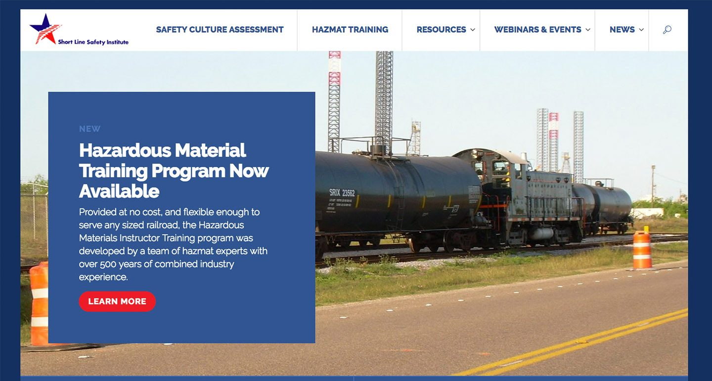 Short Line Safety Institute Launches New Website